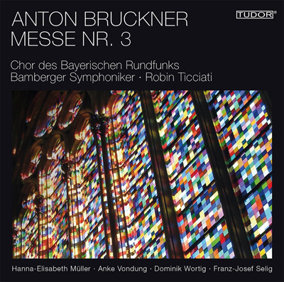 CD Cover of Anton Bruckner Messe Nr.3