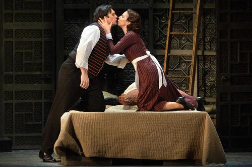 """Susanna und Figaro in """"Le Nozze di Figaro"""""""